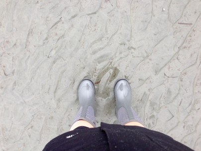 Loved my new rain boots today!