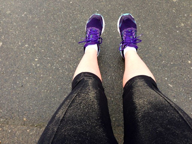 Perils of doing HR pushups at the playground when it's raining outside: wet belly and leg and sand everywhere!