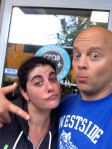 Goofing off at Crossfit Qualicum Beach