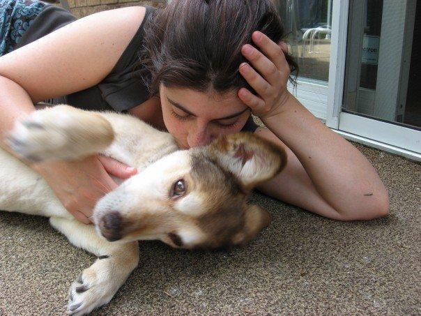 Puppy love = heaven!