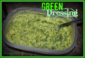 green dressing