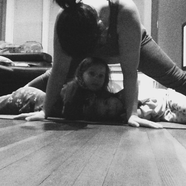 Family Standing Straddle!